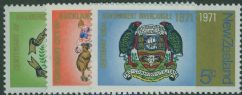 NZ SG952-4 City Centenaries set of 3